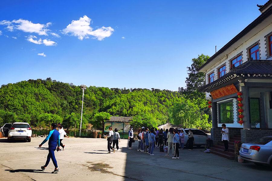 大黑汀水库大鱼沟度假村